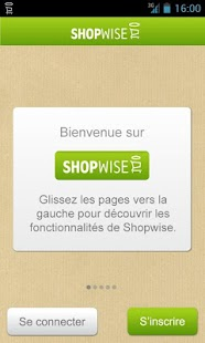 SHOPWISE manger mieux- screenshot thumbnail