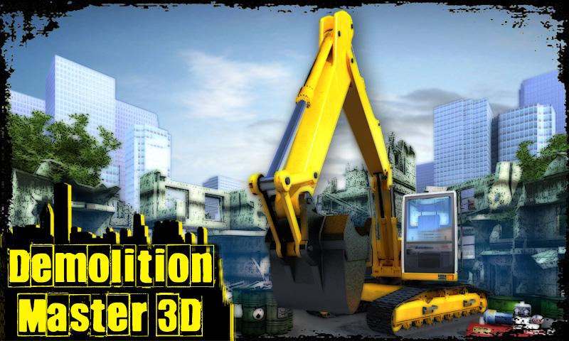 Demolition Master 3D FREE - screenshot