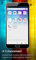 Screenshot of UC Browser for X86 Phones