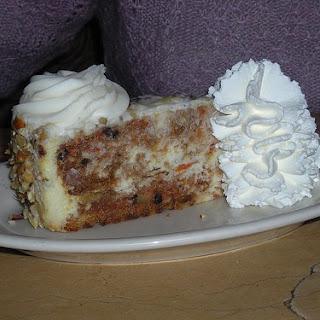 Cheesecake Factory's Carrot Cake Cheesecake.