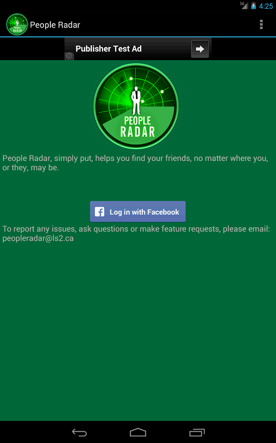 People Radar- screenshot