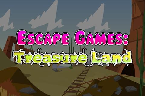 逃脱游戏:宝物土地