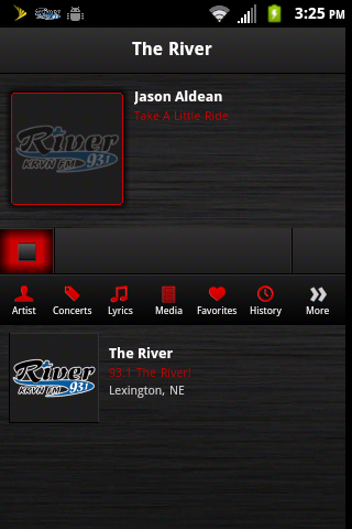 93.1 The River - screenshot