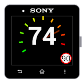 Speedometer for SmartWatch 2
