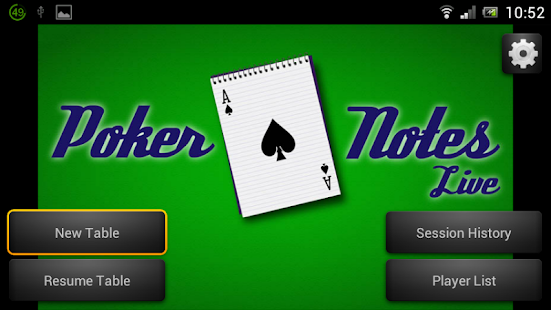 Poker Notes Live- screenshot thumbnail