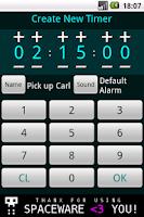 Screenshot of Simple Timer