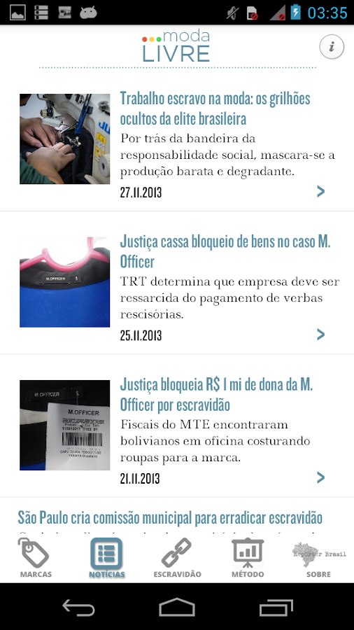 Moda Livre- screenshot