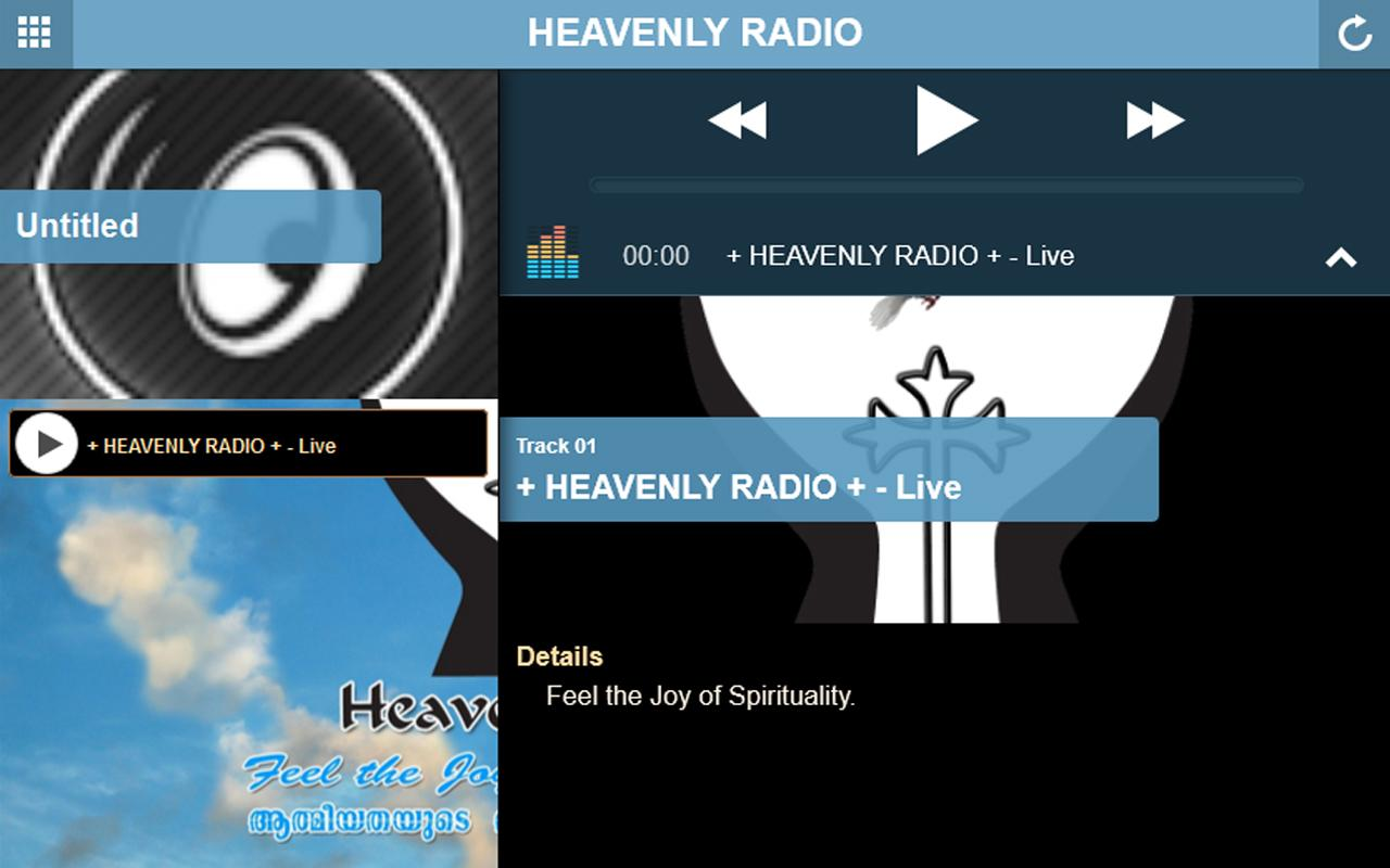 HEAVENLY RADIO- screenshot
