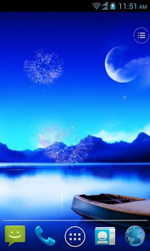 玩個人化App|Fireworks live wallpaper免費|APP試玩
