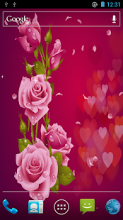 Love Rose Live Wallpaper