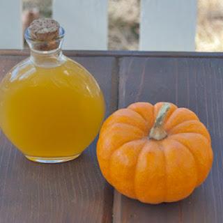 DIY Pumpkin Liqueur.