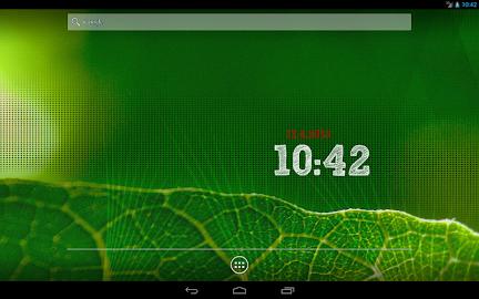 ClockQ - Digital Clock Widget Screenshot 8