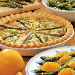 Asparagus Swiss Quiche