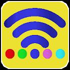 Wi-Fi view & select icon