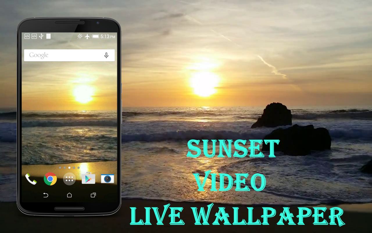 sunset live wallpaper android apps on google play