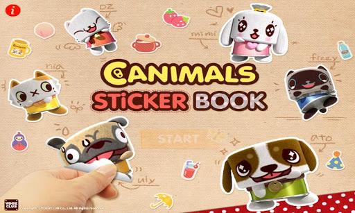 Canimals: Sticker Books
