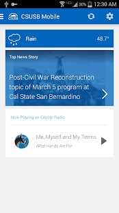CSUSB Mobile- screenshot thumbnail