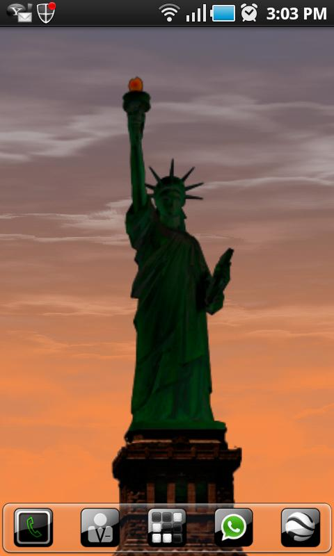 New York LWP Statue o Liberty - screenshot
