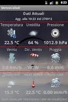 Screenshot of Meteocollodi