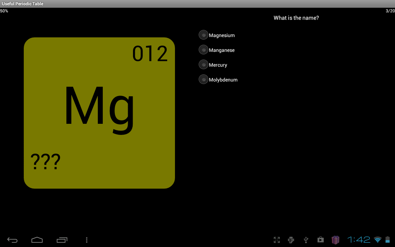 Useful periodic table android apps on google play useful periodic table screenshot gamestrikefo Images