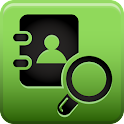 Search for contacts icon
