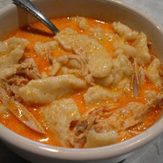 Hungarian Chicken Paprikash*Chicken and dumplings