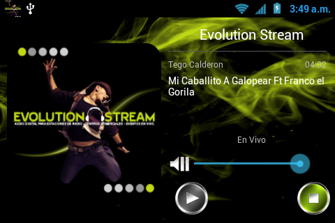 Evolution Stream - screenshot