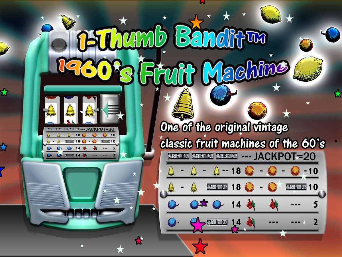 Thumb Bandit 1960 Slot Machine- screenshot