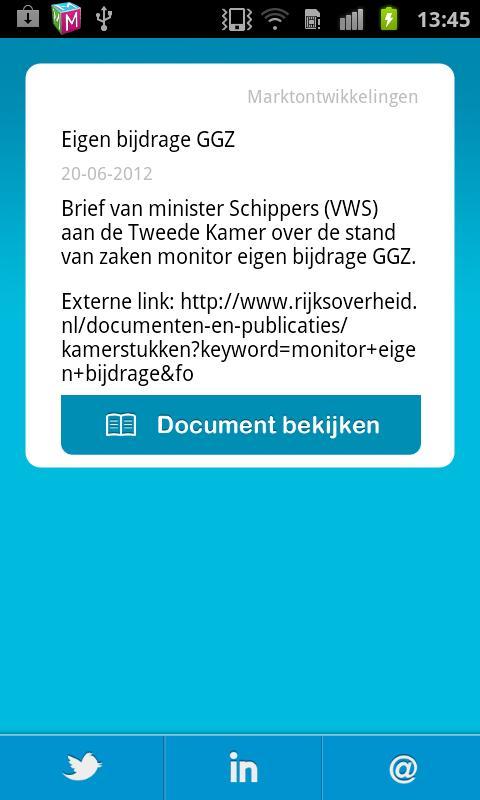 Zorgkennis- screenshot