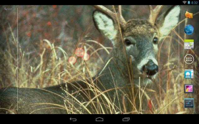 Deer Hunting Live Wallpaper - screenshot