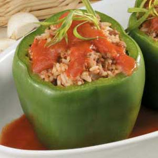 Traditional Stuffed Peppers.