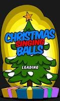 Screenshot of Christmas Singing Balls