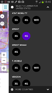 4G map & speedtest- screenshot thumbnail