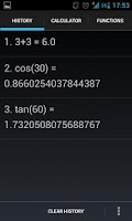 Screenshot of Pi Calc (free)