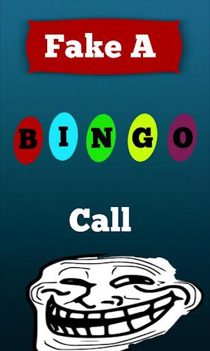Fake A Bingo Call