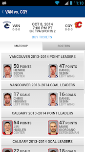 Vancouver Canucks- screenshot thumbnail