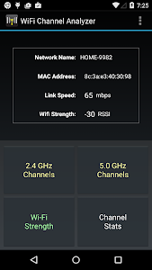 WiFi Channel Analyzer v3.02