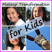 Makeup Transformation for Kids