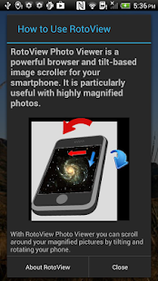 RotoView Photo Viewer- screenshot thumbnail