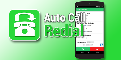 Auto Call Redial Pro Key