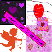 Pink & Purple Hearts Theme