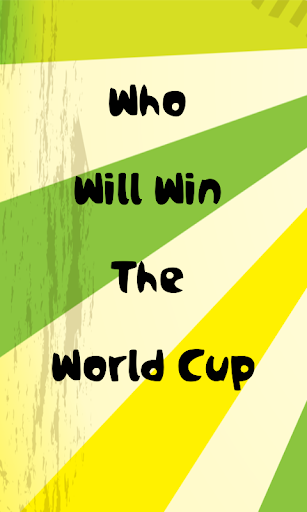 Who Will Win WorldCup