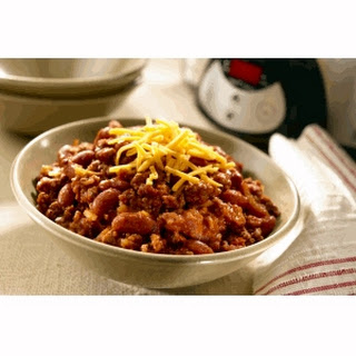 Super Easy Slow-Cooked Chili.