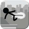 Stickman Rooftop Runner icon