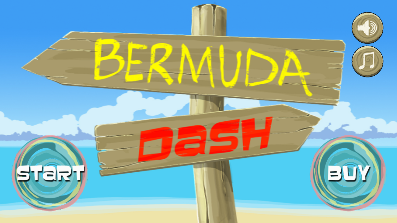 Bermuda Dash- screenshot