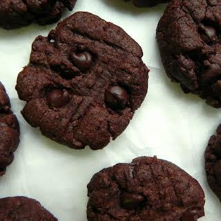 Chocolate Flourless Peanut Butter Cookies.