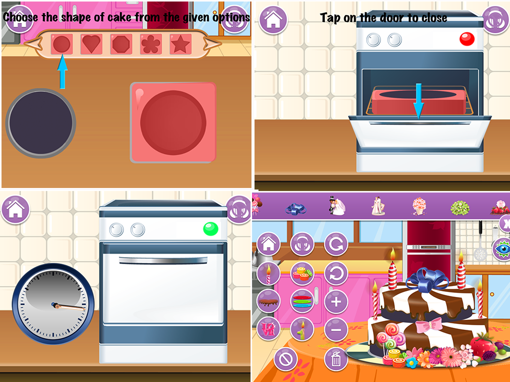 My Cake Maker Combinations