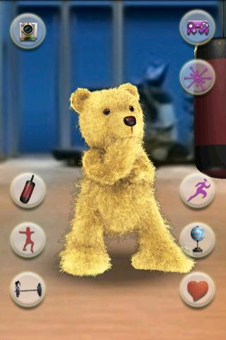 会说话的拳击小熊