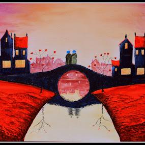 Bridge by Mili Shrivastava - Painting All Painting