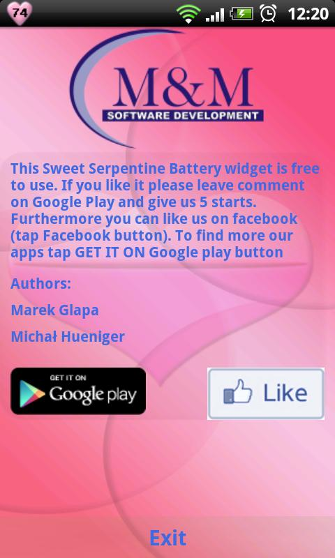 Sweet Serpentine Battery - screenshot